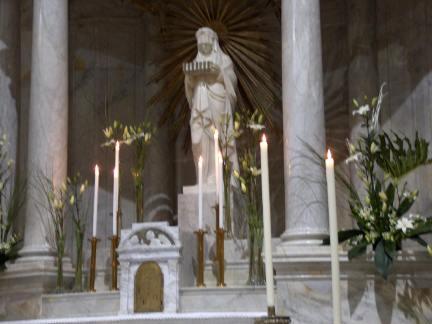Fede, Alghero, Chiesa di Santa Maria,1824